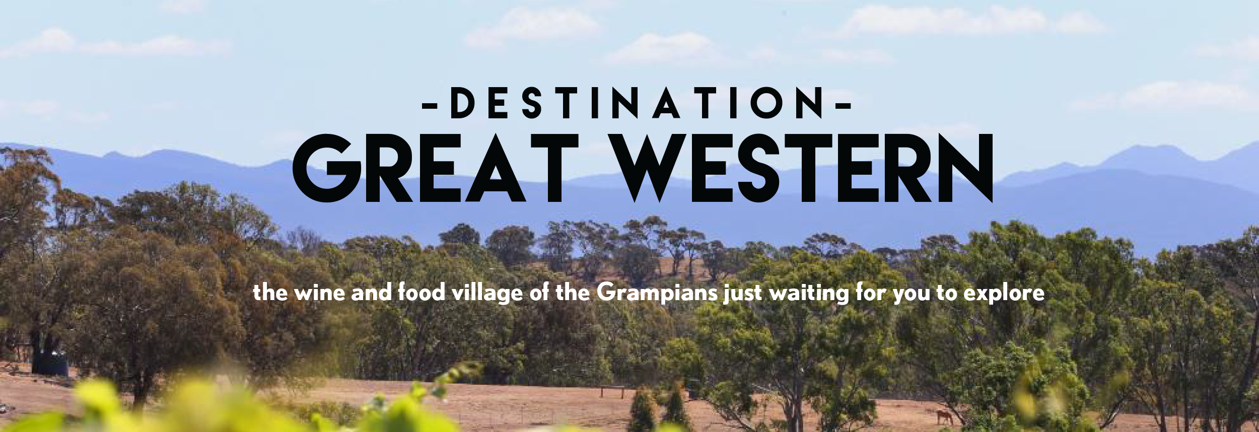 Destination Great Western